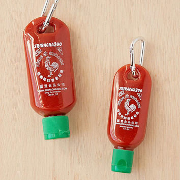 Sriracha To-Go Bottle Keychain | Urban Outfitters