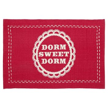 Dorm Sweet Dorm Mat, Warm
