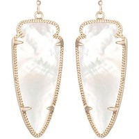 Skylar Earrings in Ivory Pearl - Kendra Scott Jewelry