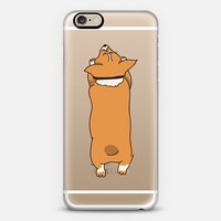 One Corgi Sploot iPhone 6 case by eugeniaclara | Casetify