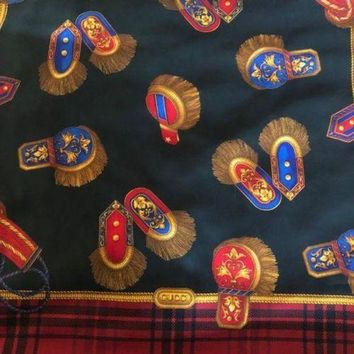 CREYON Vinateg Gucci Extra Large Wool Scarf/Shawl, 135cm, Excellent Condition