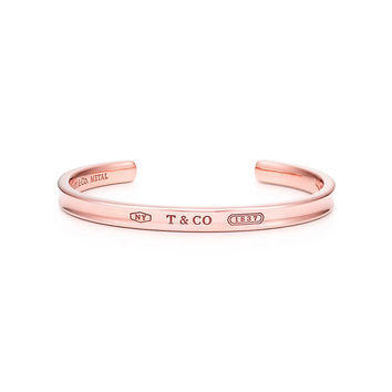 Tiffany & Co. - Tiffany 1837™ narrow cuff in RUBEDO® metal, medium.