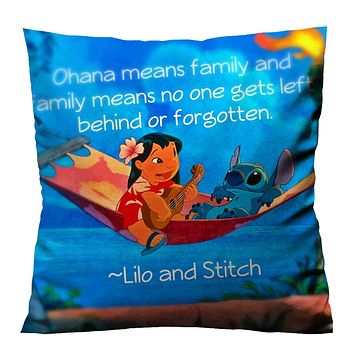 DISNEY LILO AND STITCH 1 Cushion Case Cover