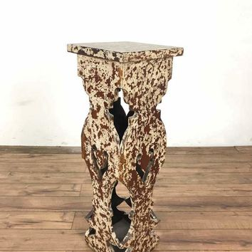 Rustic wood Plant Stand