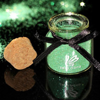 ZERO NANA Nail Art Decoration Shimmering Powder Tender Green - Default