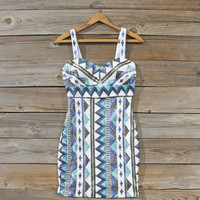 Winter Lake Beaded Dress
