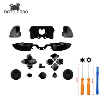 Matte Black Custom for Xbox ONE Controller Buttons Full Mod Kit Triggers DPad +Torx Screwdriver Repair Open Hand Tool