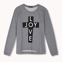 Love Joy Cross Sweatshirt