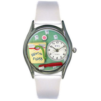 Dental Assistant Watch Small Silver Style