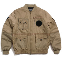 Technician Aviator Jacket Khaki