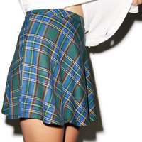 Tripp NYC Skool Gurl Plaid Skirt