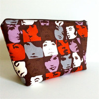 Extra Large Cosmetic Case Toiletry Bag Travel Bag Makeup Bag in The In Crowd
