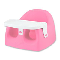Baby First Comfy Seat with Tray Booster Seats - LuxuryLamb.Com