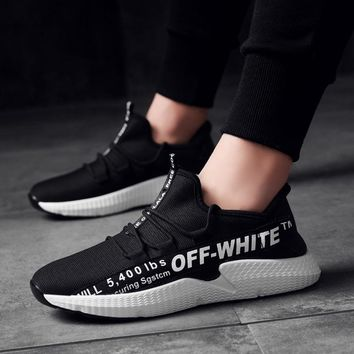 OFF-WHITE Men Fashion Running Sneakers Sport Shoes