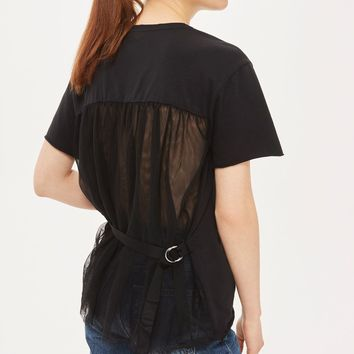 Tulle Back Tee - Sale - Sale & Offers