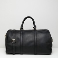 ASOS DESIGN large elongated bowler carryall at asos.com