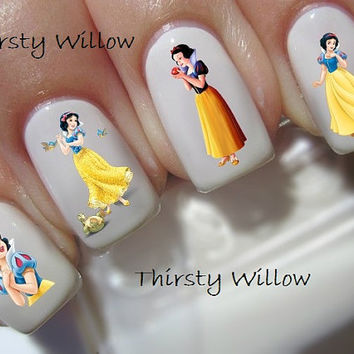 Disney Snow White And The Seven Dwarfs Nail Decals