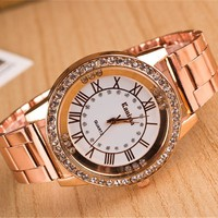Women's Stainless steel Quartz Watch