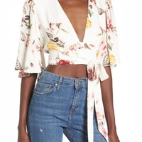 ARRIVE Willow Wrap Top | Nordstrom