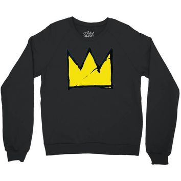 Basquiat crown Crewneck Sweatshirt