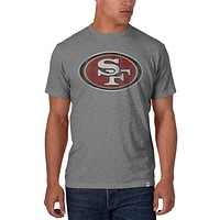 San Francisco 49ers - Logo Scrum Premium Grey T-Shirt
