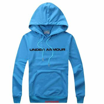Under Armour Women Men Casual Long Sleeve Top Sweater Hoodie Pullover Sweatshirt-8
