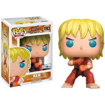 Ken Street Fighter Funko Pop! Figure #193 TRU Exclusive