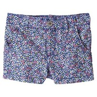 Cherokee® Infant Toddler Girls' Floral Chino Short
