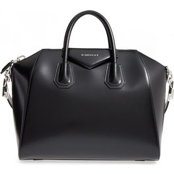 Givenchy Medium Antigona Box Leather Satchel | Nordstrom