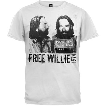 Willie Nelson - Free Willie T-Shirt