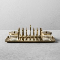 Antique Toast Server - Brass - Hearth & Hand™ with Magnolia