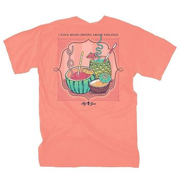 Mixed Drinks Tee by Lily Grace