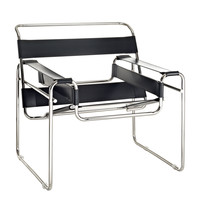 Slingy Lounge Chair in Black