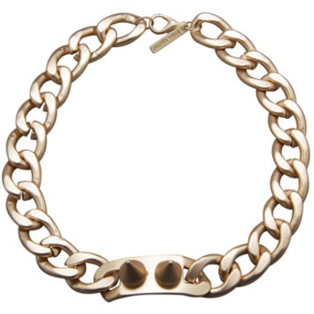 8 Other Reasons The Battle I.D. Choker in Matte Gold