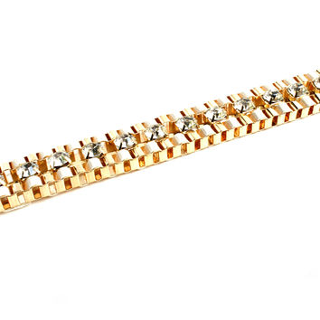"""A Bling Thing"" Gold Bracelet"