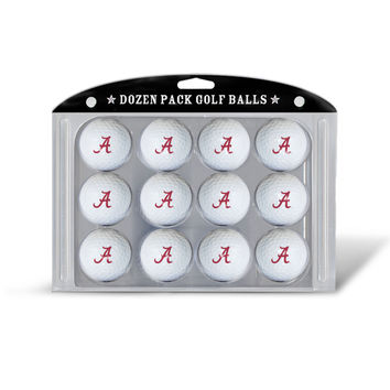 NCAA Team Golf Balls Dozen Pack
