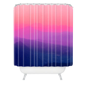 Aimee St Hill Como Sunset Shower Curtain