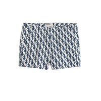 Girls' Frankie short in sea horse - patterns - Girl's shorts - J.Crew