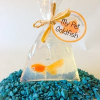 Goldfish Soap - Carnival Party Favor - Set of 10