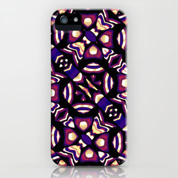 Colorful Tribal Pattern Print iPhone & iPod Case by Danflcreativo