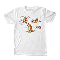 Calvin and Hobbes all t-shirt unisex adults