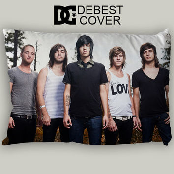 Sleeping With Sirens Forest Design Pillow Case In 20 x 30 Inches