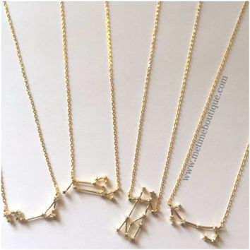 GOLD Rhinestone Zodiac Collection -  - All Zodiac Signs