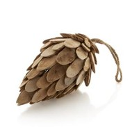 Wood Small Pinecone