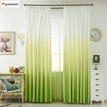 5 Color Polyester Printed 3d Window Curtain