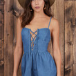 Day Dream Denim Romper