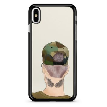 Justin Bieber Drawing iPhone X Case