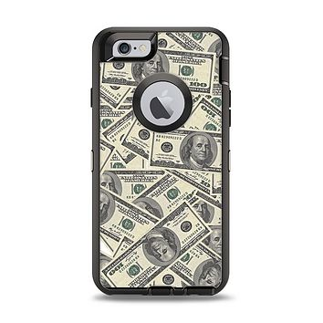 The Hundred Dollar Bill Apple iPhone 6 Otterbox Defender Case Skin Set