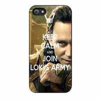 loki keep calm and join lokis army cases for iphone se 5 5s 5c 4 4s 6 6s plus