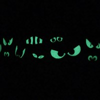 Spooky Eyes Glow in the Dark Dog Collar